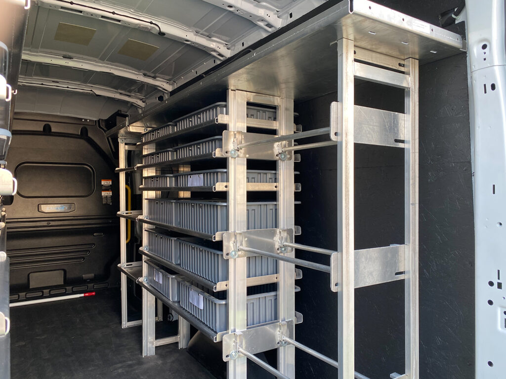 Hackney Van Shelving